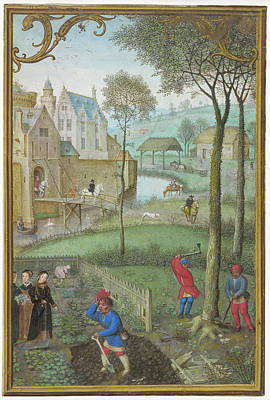 Digging Photograph - Digging And Tree-felling by British Library