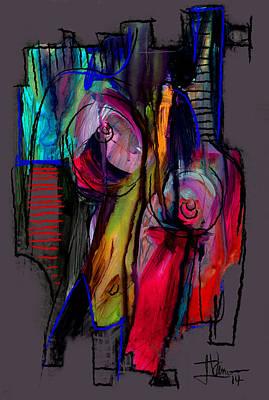 Digital Art - Digital Abstract Sept 18 2014 by Jim Vance