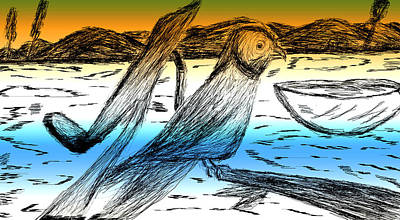 Digital Art 8 Art Print by Senthil Kumar