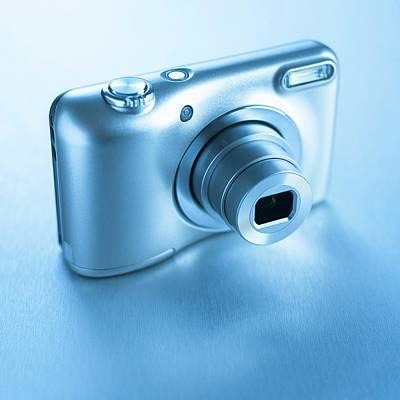 Digital Camera Art Print by Science Photo Library