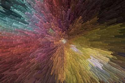 Digital Art - Digital Crystal Art by David Pyatt