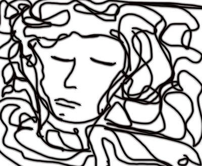 Digital Art - Digital Doodle by Shea Holliman