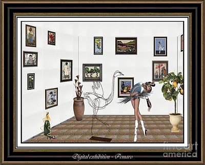 Pemaro Painting - digital exhibition 1DE2 by Pemaro