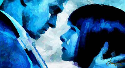 Digital Love Tnm Print by Vincent DiNovici