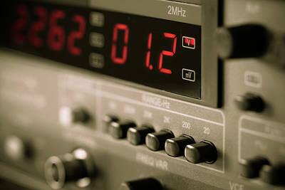 Machinery Photograph - Digital Measuring Device by Wladimir Bulgar