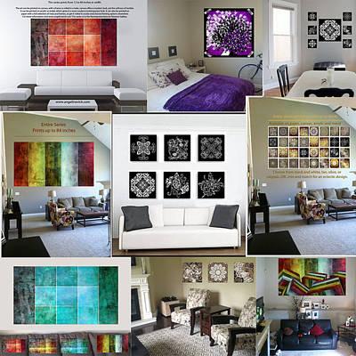 Mixed Media - Digital Mockup Examples by Angelina Vick