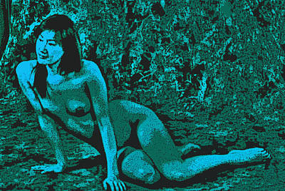 Digital Art - Digital Nude by Tim Ernst