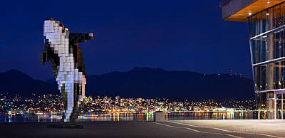 North Vancouver Photograph - Digital Orca by Alexis Birkill