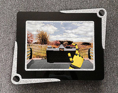 Digital Photographer 3d Lenticular Transparency Original