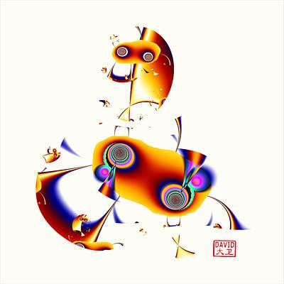 Digital Picasso - Hobby Horse Art Print