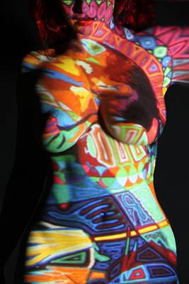 Digital Projection #47 Art Print by Stephen Carver