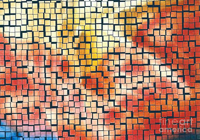 Digital Steamed Tiles Art Print by Joseph Baril