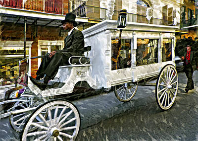 Funeral Procession Photograph - Dignified Departure Paint by Steve Harrington