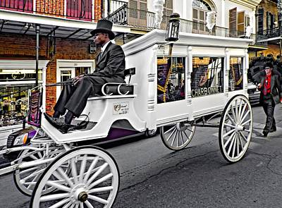 Carriage Photograph - Dignified Departure by Steve Harrington