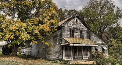 Rustic Photograph - Dilapidated by Heather Applegate