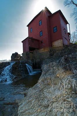 Dillard Mill Print by Chris  Brewington Photography LLC