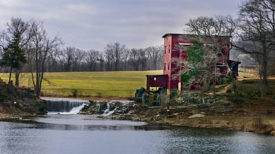 Photograph - Dillard's Mill by Lisa and Norman  Hall