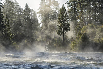 Deschutes River Photograph - Dillon Falls by Christian Heeb