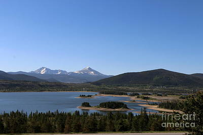 Blue Mesa Reservoir Photograph - Dillon Reservoir In Summer by Christiane Schulze Art And Photography
