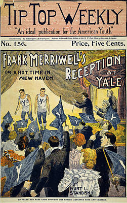 Turn Of The Century Drawing - Dime Novel, C1899 by Granger