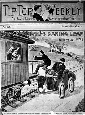 Caboose Drawing - Dime Novel by Granger