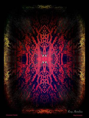 Digital Art - Dimension Transfer by Roxy Hurtubise