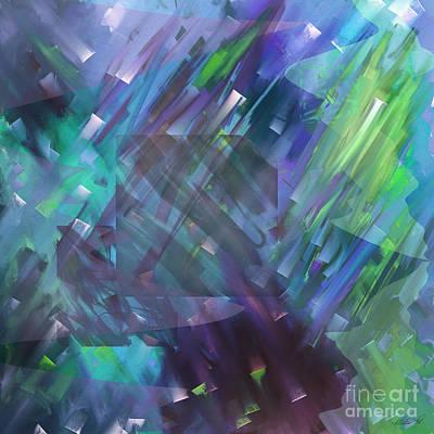Digital Art - Dimensional Chill by Kristen Fox