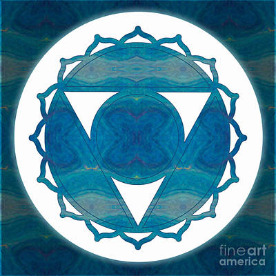 Digital Art - Dimensional Communications Abstract Chakra Art By Omaste Witkows by Omaste Witkowski