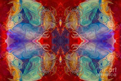Digital Art - Dimensional Realities Abstract Pattern Artwork By Omaste Witkowski by Omaste Witkowski