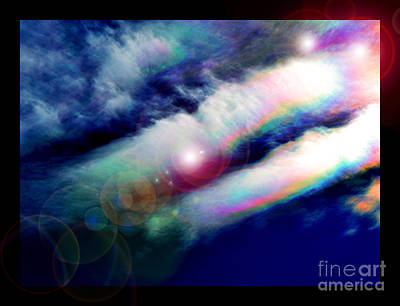 Spiritual Presence Photograph - Dimensional Transits by Susanne Still