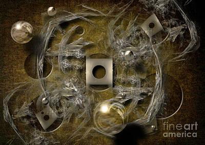 Digital Art - Dimensions by Alexa Szlavics
