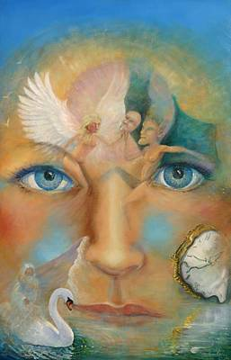 Painting - Dimensions Of The Mind by Peter Jean Caley