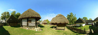 Bucharest Photograph - Dimitrie Gusti National Village Museum by Panoramic Images