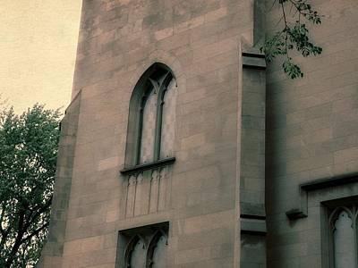 Photograph - Dimnent Memorial Chapel Detail by Michelle Calkins