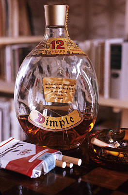 Photograph - Dimple Whisky 1977 by Dragan Kudjerski