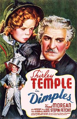 Shirley Temple Photograph - Dimples by Movie Poster Prints