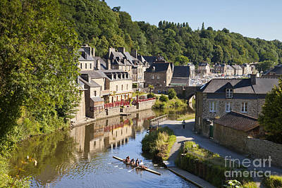 Photograph - Dinan Brittany France Rance And Skuller by Colin and Linda McKie