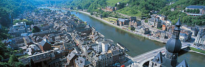 Dinant Ardennes Belgium Art Print by Panoramic Images