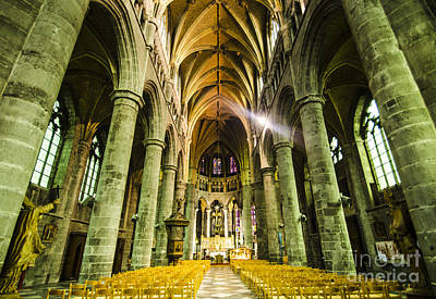 Photograph - Dinant Cathedral Of Notre Dame by Deborah Smolinske