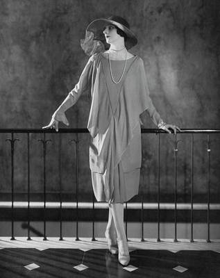 Dinarzade Wearing A Crepe Dress Art Print