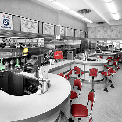 Diner 3 Art Print by Andrew Fare