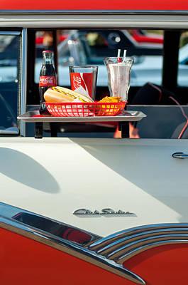 Hop Photograph - Diner Food Tray Club Sedan by Jill Reger