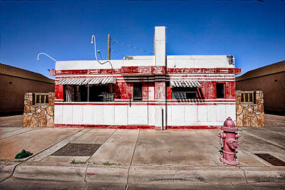 Old Diner Photograph - Diner by Peter Tellone