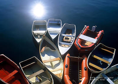 Photograph - Dinghies And Rowboats - Maine by David Perry Lawrence