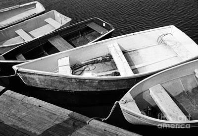 Photograph - Dinghies  by Tom Brickhouse