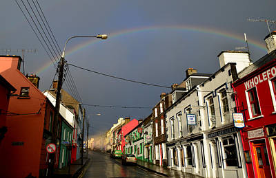 Photograph - Dingle Rainbow by Barbara Walsh