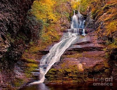Photograph - Dingman Falls Pa by Nick Zelinsky