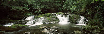 Dingmans Falls Photograph - Dingmans Creek Flowing by Panoramic Images