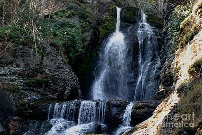 Photograph - Dingmans Falls 2 by Living Color Photography Lorraine Lynch