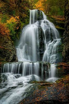 Ken Beatty Photograph - Dingmans Ferry Falls 2 by Ken Beatty